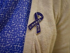 sundance-vacations-northeast-regional-cancer-institute-casual-day-blue-colon-cancer-charities-pin