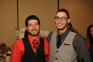Sundance Vacations Wilkes-Barre office employee Shawn Wall and Peter enjoyed a night out at the WVCA's Gala.