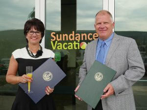 sundance vacations; sundance vacations awards; sundance vacations charities; john and tina dowd