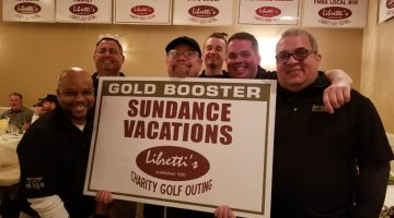 Sundance Vacations at 2018 Libretti's Gold Outing for Down Syndrome Awareness Banner